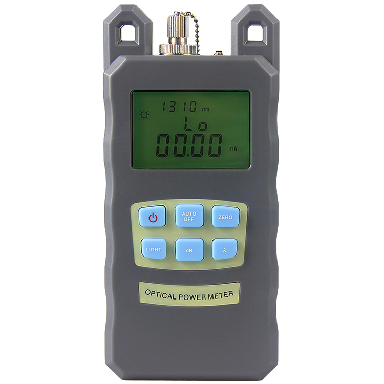 Cheap Handheld Optical Power Meter -70~+10dBm With FC SC Connector
