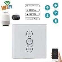 Tuya Smart Life WiFi занавес переключатель для электрического моторизованного занавеса слепой рольставни, Google Home, Amazon Alexa Голосовое управление
