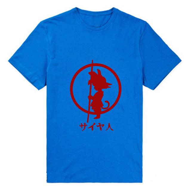 Dragon Ball Son Goku Anime Women's Summer Casual T-Shirt