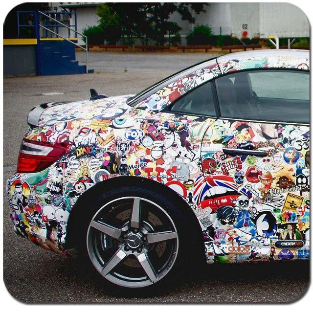 Cnhgarts bomb sticker car decoration foil car wrap vinyl camo digital car wraps for car stickers