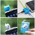 FFFAS 3 in 1 Batman Cute 3.5mm Jack Adapter to Headphone for Samsumg iPhone 5 5S 6 6S plus MP3 Player Earphone Splitter Adapter