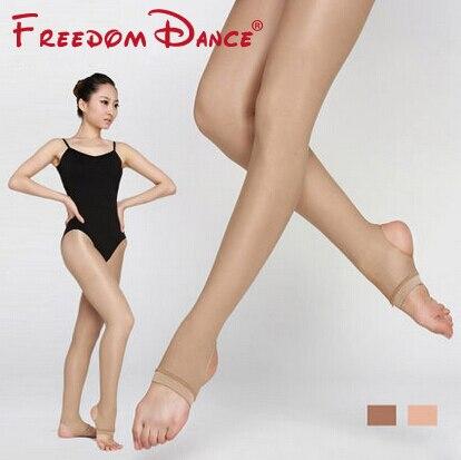 Women Ballet Dance Tights 40D Shining Shaping Pantyhose Tights Stockings 2018 Fitness Sport Dancing Pants Stirrup Tights rib knit tights