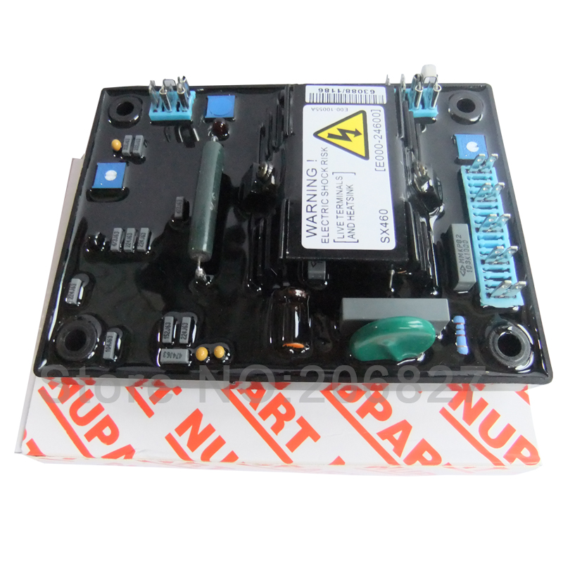 Red carton AVR SX460 FOR GENERATOR + Free shipping avr sx460 for generator common carton supplier made in china free shiping to usa