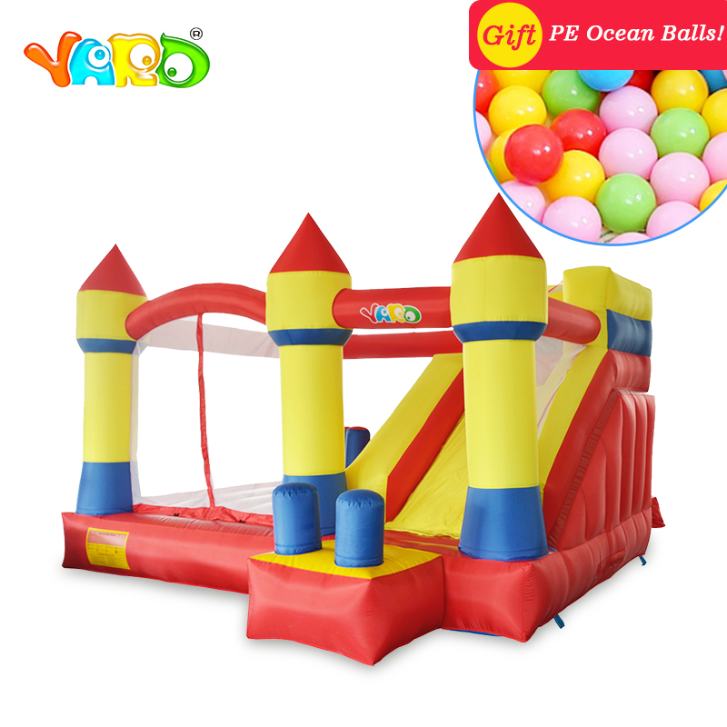 YARD Inflatable Slide Bouncy Castle Jumper for kids inflatable Bounce House Inflatable Bouncer trampoline with blower inflatable castle jumping bouncer house inflatable bouncer castle outdoor inflatable for kid inflatable moonwalk jumper for sale