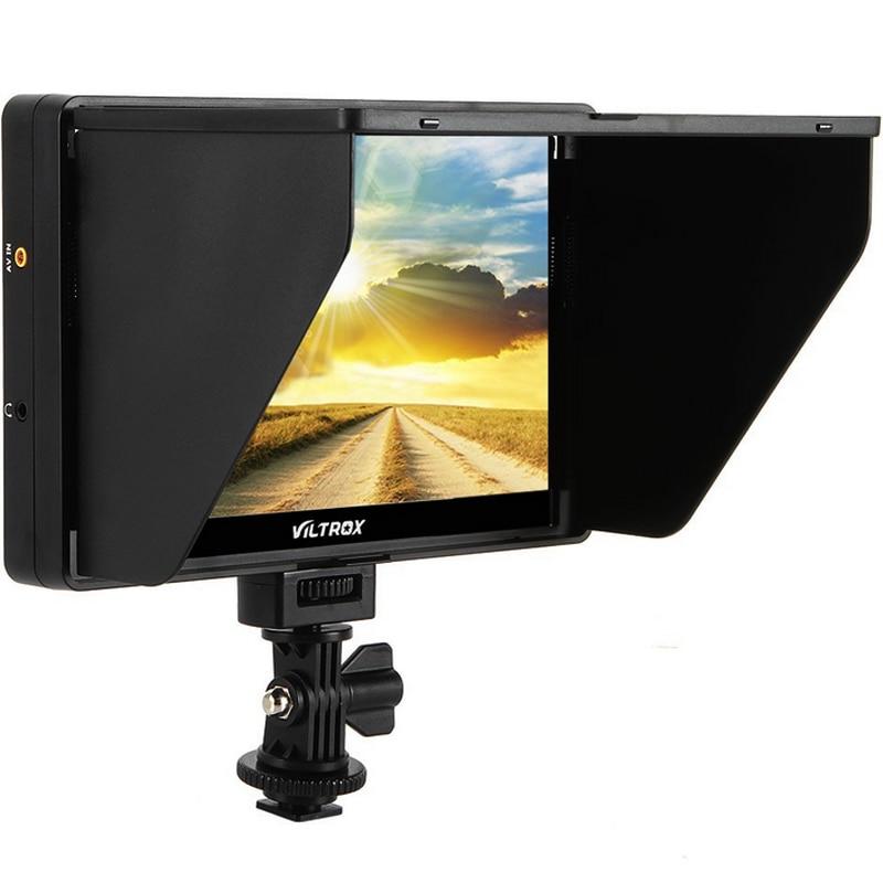 Viltrox DC-70HD 7 ''1920x1200 IPS HD LCD caméra moniteur vidéo affichage HDMI AV entrée pour Canon Nikon DSLR BMPCC 5DIV