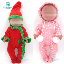 Clothes for doll fits 43cm toy born dolls accessories and Am
