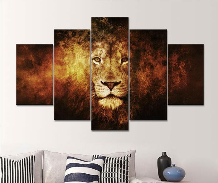 Hd Canvas Print Home Decor Wall Art Painting Picture No Frame Black And White