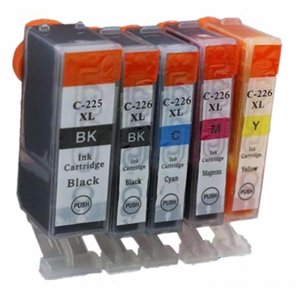 Výměna inkoustové kazety pro Canon PGI-225BK CLI-226 PGI-225BK - Kancelářské elektroniky