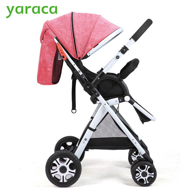 Folding Baby Stroller Lightweight Baby Prams For Newborns High Landscape Portable Baby Carriage Sitting Lying 2 in 1 folding baby stroller lightweight baby prams for newborns high landscape portable baby carriage sitting lying 2 in 1