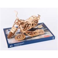 3D Puzzle wooden Nulong Laser Cutting 3D Wooden Puzzle 3D wood Jigsaw Puzzle Woodcraft Assembly Kit Harley Moto with 158 parts