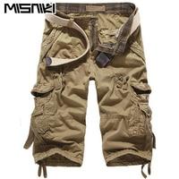 2014 New Arrival Mens Cargo Shorts Loose Cotton Plus Size Men S Casual Cargo Combat Shorts