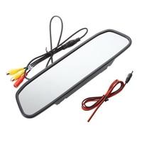 5 TFT LCD Car Rearview Monitor PAL NTSC 2CH AV Video