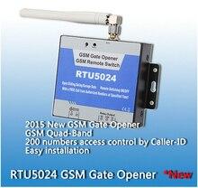 200 пользователей RTU5024 GSM Гаражные Распашные откатные Ворота Открывания двери Реле Переключатель Дистанционного Контроля Доступа Открывания Двери сервер контроллера