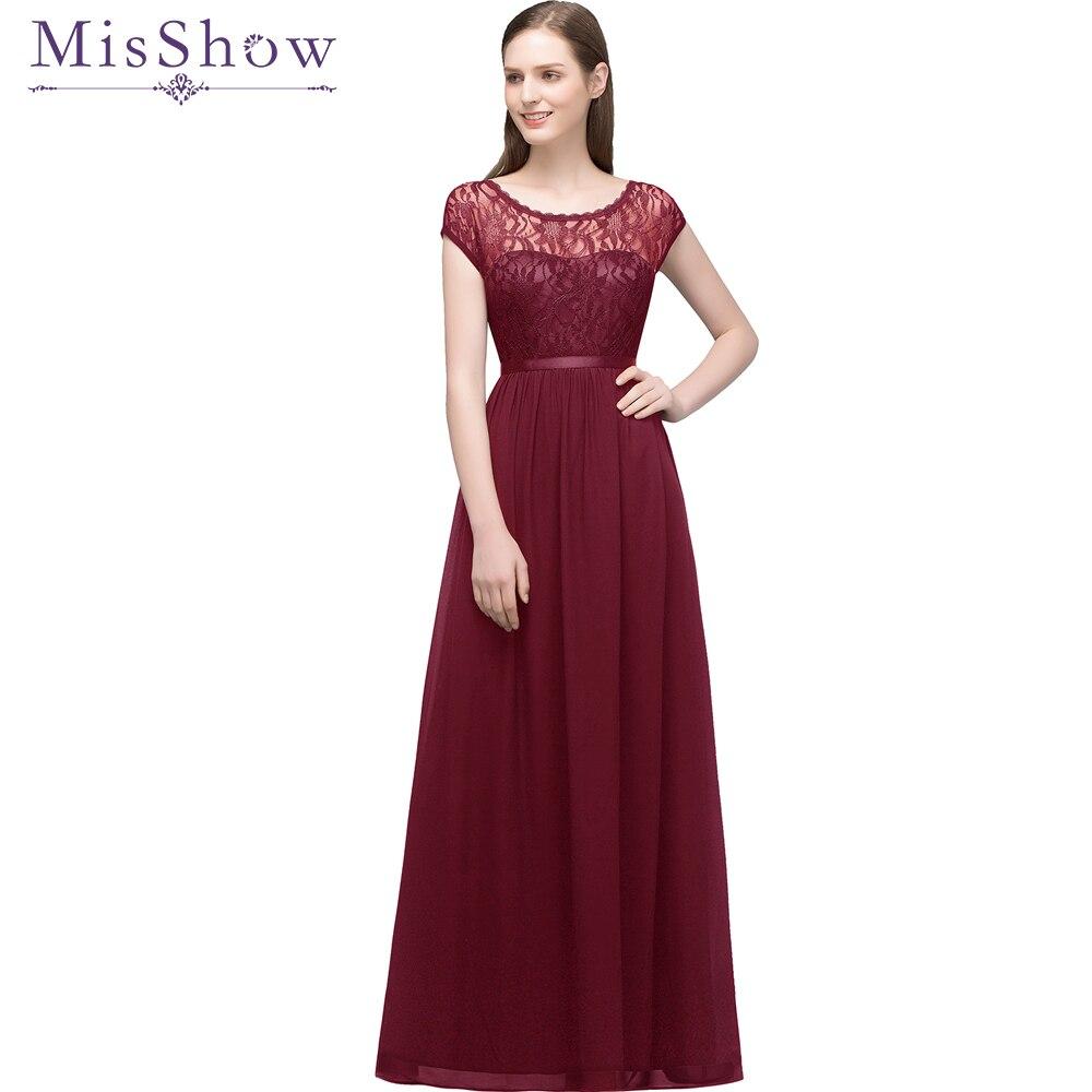29f90e466d Cheap Under 35  evening dresses long short 2019 Chiffon Lace Sleeveless  Maxi Evening Gowns Women Party Dress Long Formal Dresses. MisShow Wedding  ...