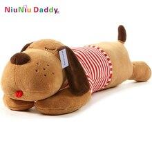 2016 Niuniu pappa plysch leksak stor hund jättefylld valp hund mjuk extremt plysch djur leksak kudde