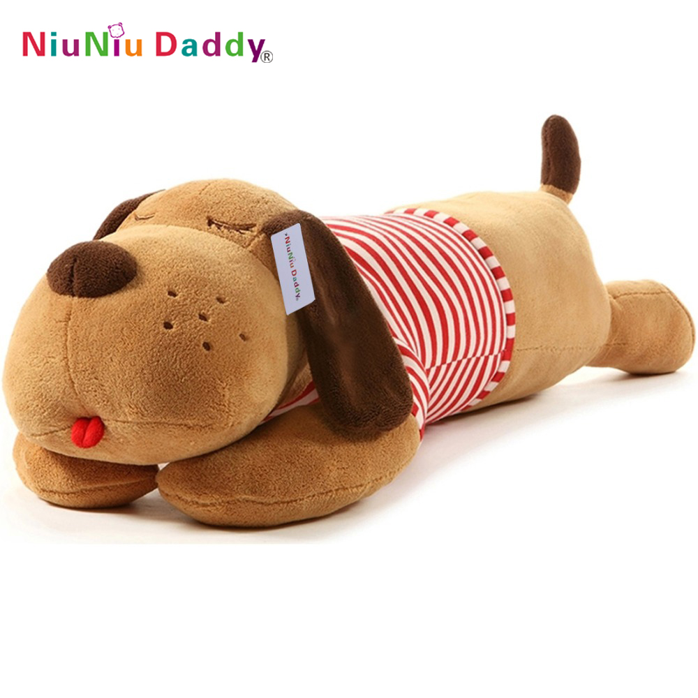 2018 Niuniu Daddy Plush Toy Big Dog Giant Stuffed Puppy Dog Soft Extremely Plush Animal Toy Pillow stuffed animal 120cm brown lying sleeping dog plush toy soft throw pillow w2302