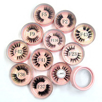 20pcs customize box and lashes and logo (41, 37, 23 and 5)5pcs each style