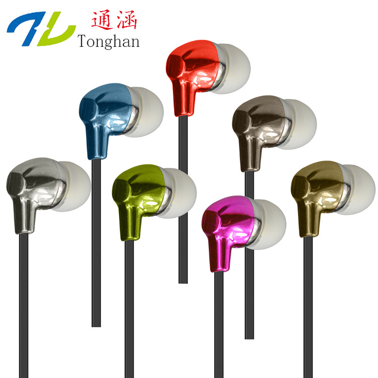 T06 Universal Wired 3.5mm Earphone with Microphone Smartphone Earbuds Earpiece