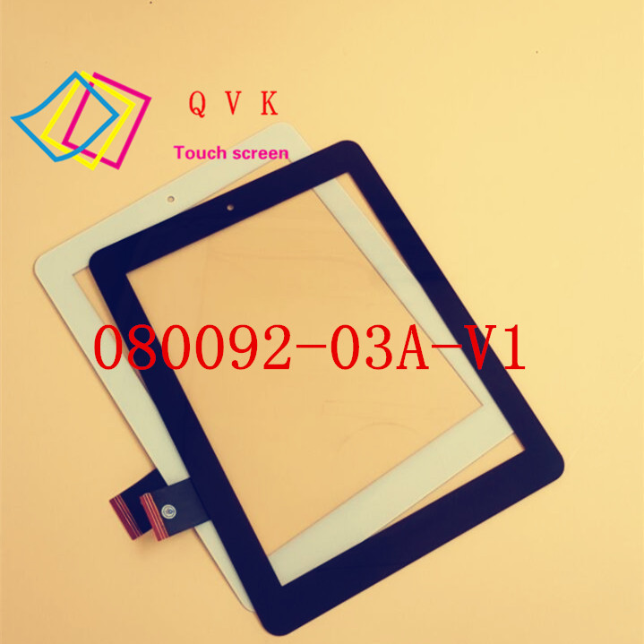 8inch black have in stock 080092 03A V1 F0603X touch screen panel digitizer glass sensor replacement