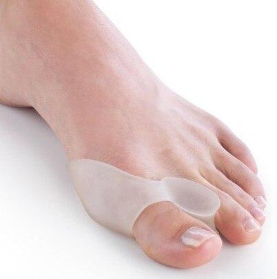 1Pair Feet Care Special Hallux Valgus Bicyclic Thumb Orthopedic Braces Correct Daily Silicone Toe Big Bone Foot Care Tool