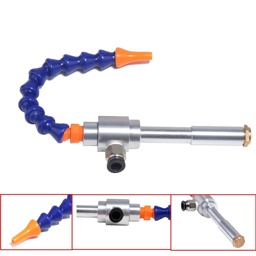 130mm Vortex D'air Froid Et Chaud De Refroidissement à Sec Pistolet Froid Pistolet À Air + Flexible Tube Nouveau