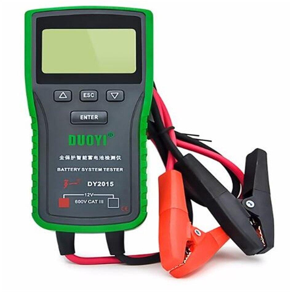Testeur de batterie 12 V & 24 V automobile Test de Charge de batterie de Charge électronique automatique