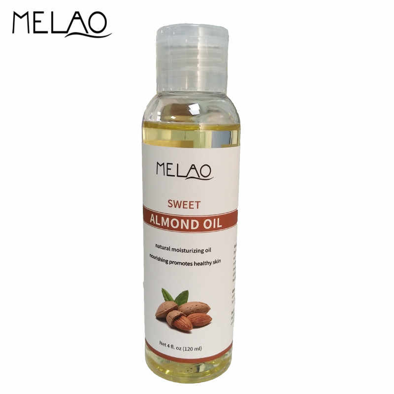 MELAO Essential Oils Sweet Almond Oil for Hydrating Moisturizing Smooth  Skin Hair Care Facial Skin Care Body Massage Oil 120ml