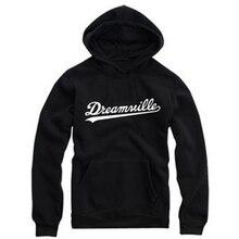 DREAMVILLE J Cole Logo Hoodies Men Hip Hop Singer Jermaine Cole Thick Hooded Swag Letter Fleece J Cole Hoody Sweatshirts Outwear