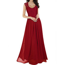 (Ship from US) New Fashion Designer Dress For Women Chiffon Long Maxi Dress  Bridesmaid Ball Formal Gown Clothes Long Dresses Vestidos De Festa f0640ba2f4a5