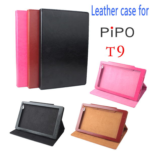 Original For PiPo T9 Cover Flip Utra Thin Leather Case For PiPo T9 Shell 8.9 inch New Tablet PC , For PiPo T9 Case Shell цена 2017