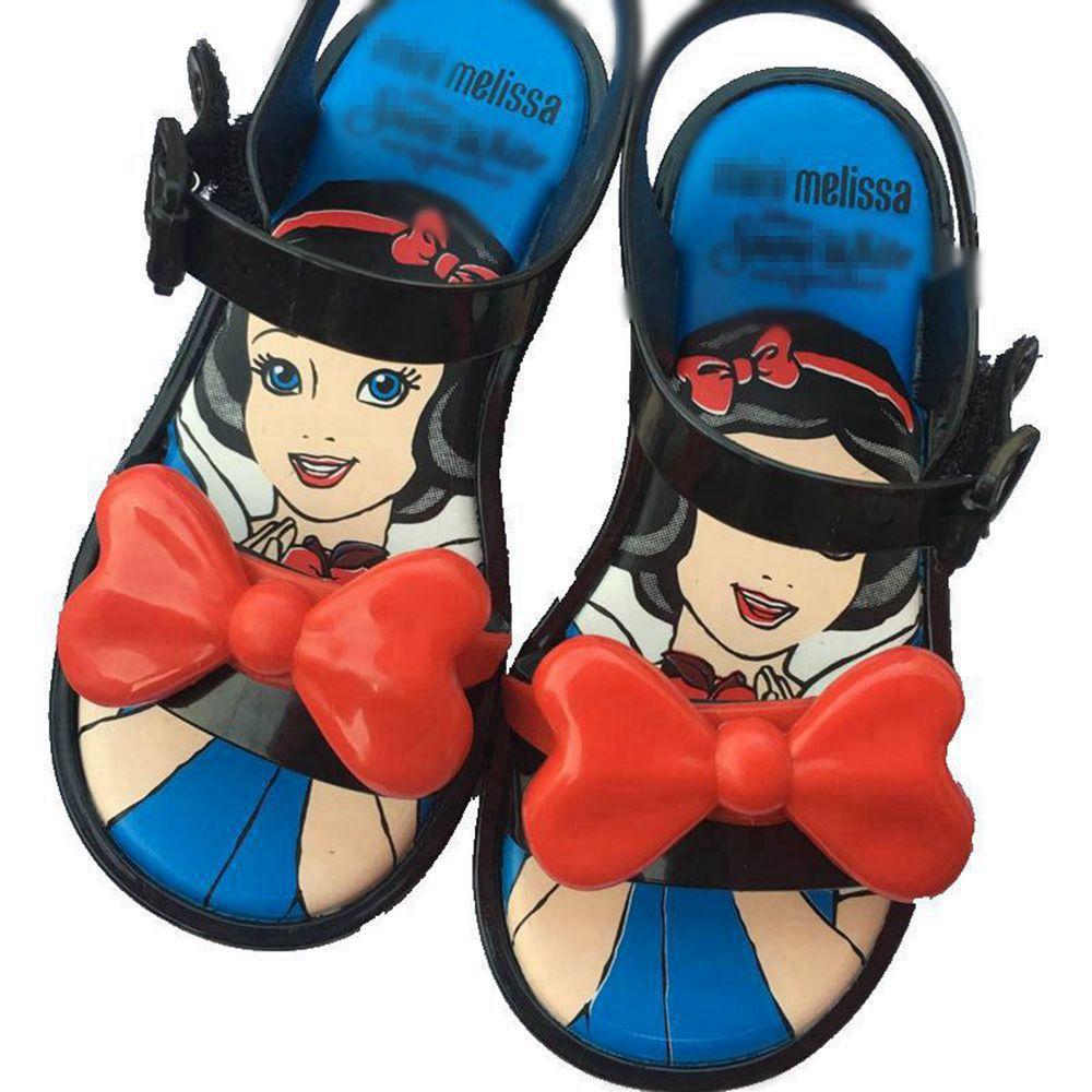 fb99882d4 En Oferta Melissa Mini 2019 verano nuevo estilo princesa gelatina zapatos  chica antideslizante Sandalia de playa Niño tamaño 5