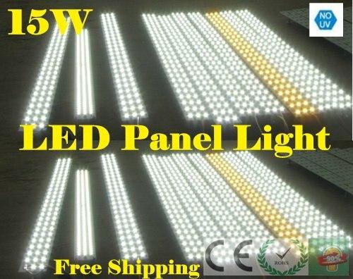15 W אור הפנל הוביל מגנטי, רצועת הפנל הוביל מגנטי לוח מלבן לתקרת אור אשר הוא קל להתקנה הנורה