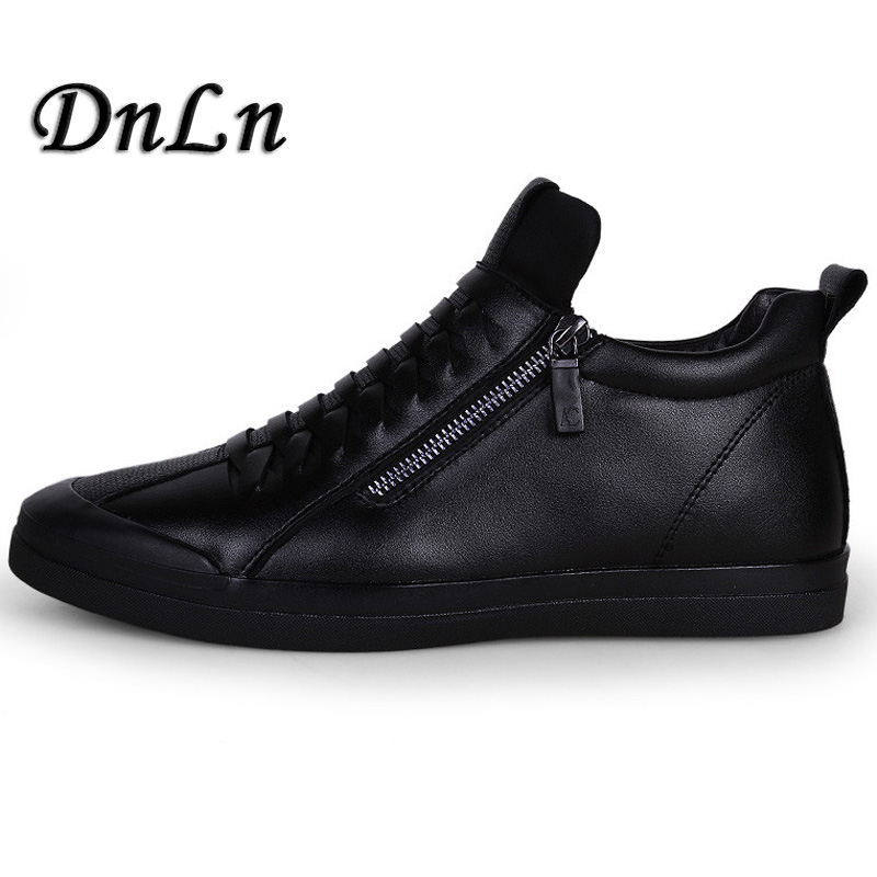 Slip on Man Shoes Fashion Men Casual Shoes Brand Male Leather Shoes Luxury Men Flats Designer Shose ZT40 ...