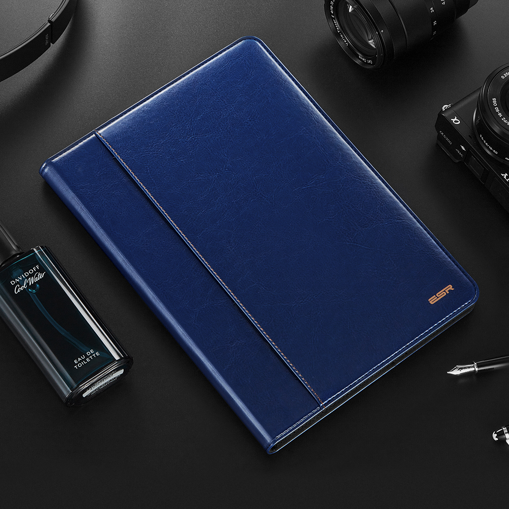 Auto Sleep /Wake Up Flip PU Leather Cover Cases For Ipad Air 2 A1566 A1567 Smart Stand Folio Case