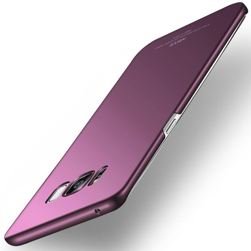 Оригинальный Msvii тонкий силиконовый скраб ПК Мобильный Телефонные Чехлы Интимные аксессуары для Samsung Galaxy <font><b>S8</b></font>/<font><b>S8</b></font> плюс твердый переплет Корпус ч&#8230;