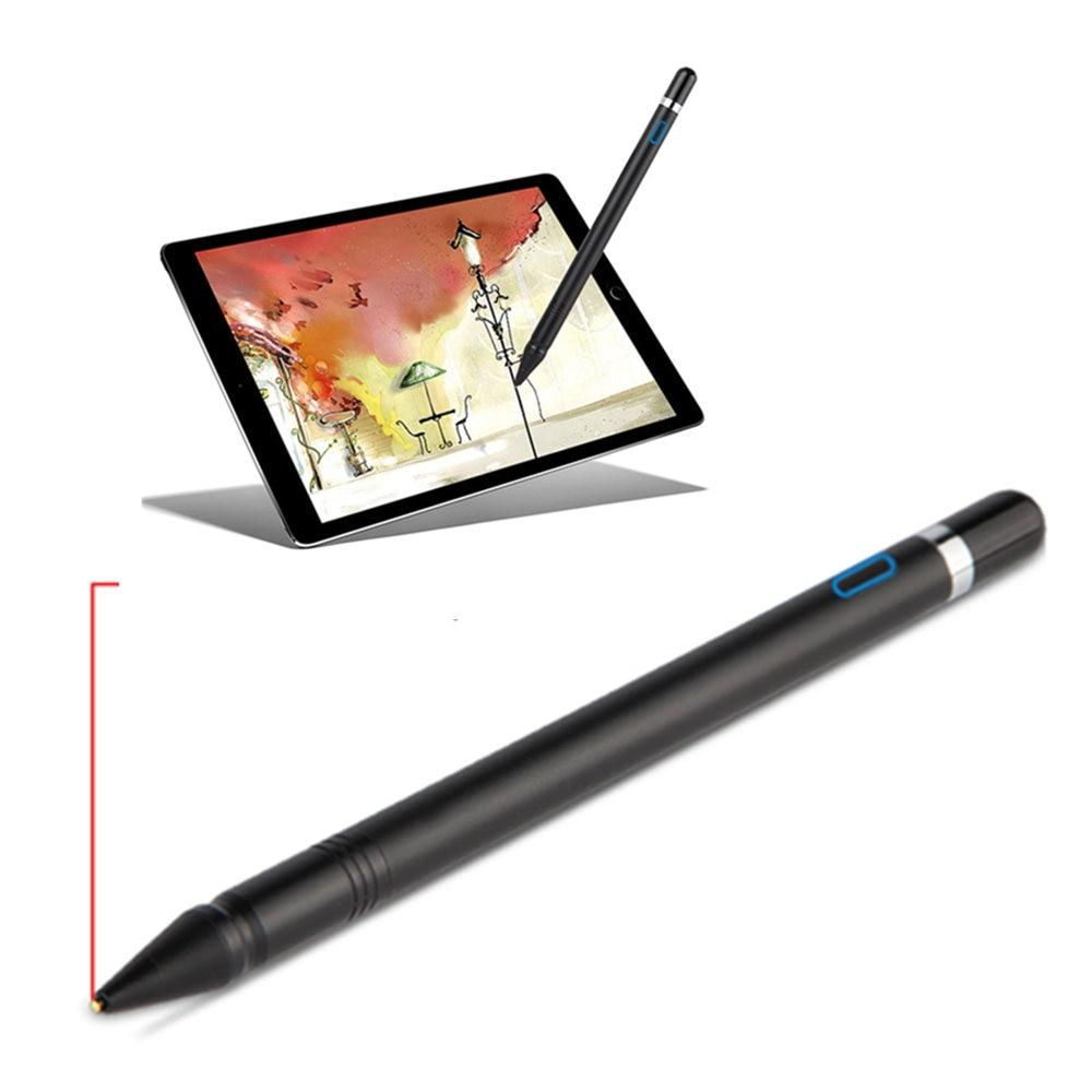 NIB 1.3mm Pen Active Stylus Capacitive Touch Screen For Asus ZenPad 3s 10 8.0 Z10 Z8 Z301 Z500M Z300M Z580C Z380C Z581 Tablet цена и фото