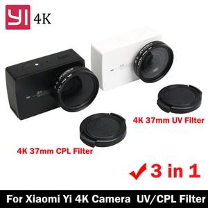 Xiaoyi 37mm CPL+UV Lens Filter