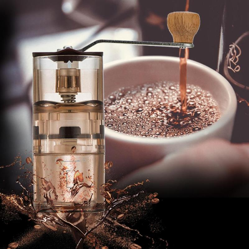 Mini Portable Manual Coffee Grinder Washable Coffee Bean Hand Crank Mill Burr Grinder Household Manual Grinding Machine portable coffee grinder stainless steel ceramic burr hand crank manual coffee grinder for coffee lovers mini hand mill for home