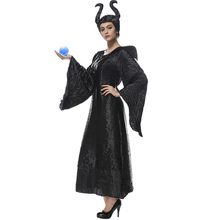 Deluxe Womens Wicked Witch Costume Halloween Adult Cosplay Clothing