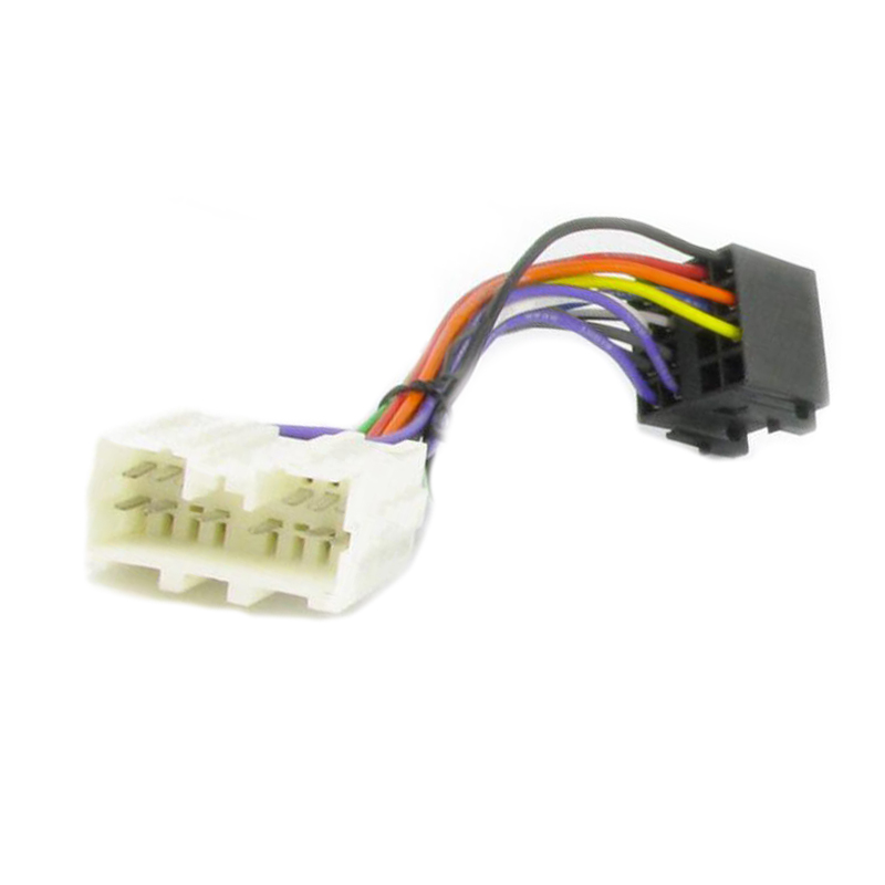 Wiring Lead Harness Adapter for Mitsubishi L200 1996 ISO stereo plug adaptor