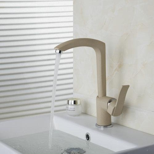 Wash Basin Sink Deck Mount Single Handle Swivel 360 Soild Brass 92280 Vessel Kitchen Torneira Cozinha Tap Mixer Faucet