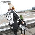 Mother And Daughter Clothes Fashion Family Matching Outfits Look Down Coats Cotton Mom And Daughter Baby Girls Outerwear GH326