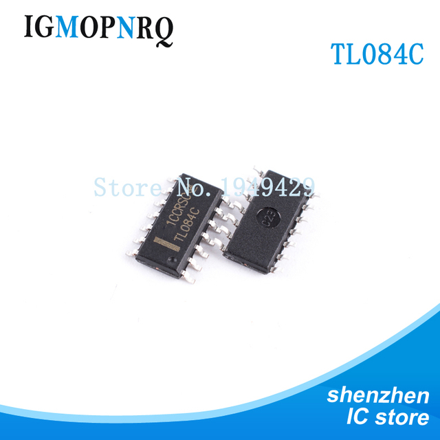 US $0 96 |10PCS TL084CDT SOP14 TL084 084C Operational amplifier op amp Quad  Gen Purp JFET New original free shipping-in Integrated Circuits from