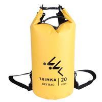 20l 100% Водонепроницаемый Открытый сухой мешок рюкзак Регулируемый Бретели для нижнего белья Каякинг Кемпинг Одежда заплыва сумка для хранен...