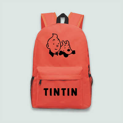 2018 New Hot Atletico Madrid tintin Backpack For teenager Back to School  Student Bags Christmas for 0d19612c81b3f