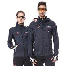 Reflective Waterproof Cycling Jacket Men Women Windproof MTB Bicycle Rain Jacket Breathable Outdoor Sport Nylon Running Raincoat цена