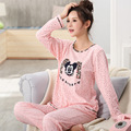 Autumn Full Sleve Nursing Breastfeed Shirt Trousers Set women maternity clothes Lounge Suit maternity pajamas women sets pyjamas