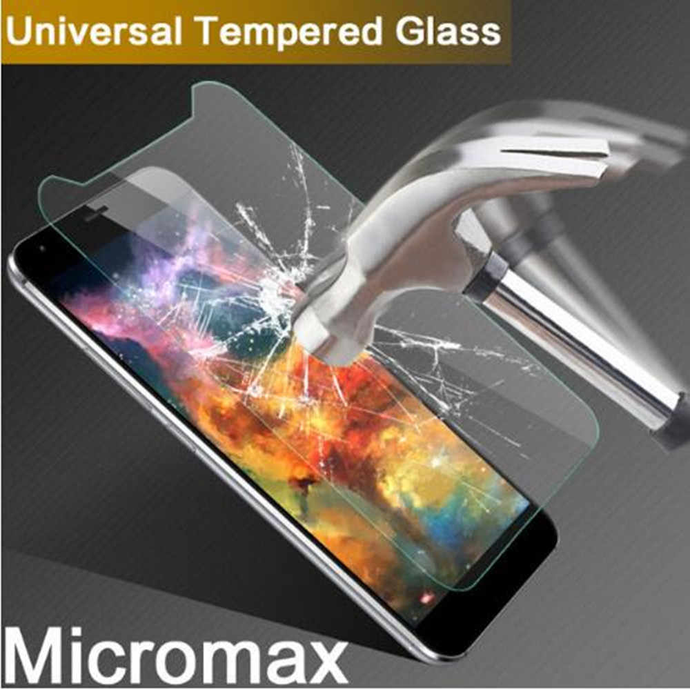 2pcs Tempered Glass Micromax Q440 Q334 Q351 Q421 Q402 Q409 Q465 Phone Screen Protector Film Protective Cover For Micromax E313