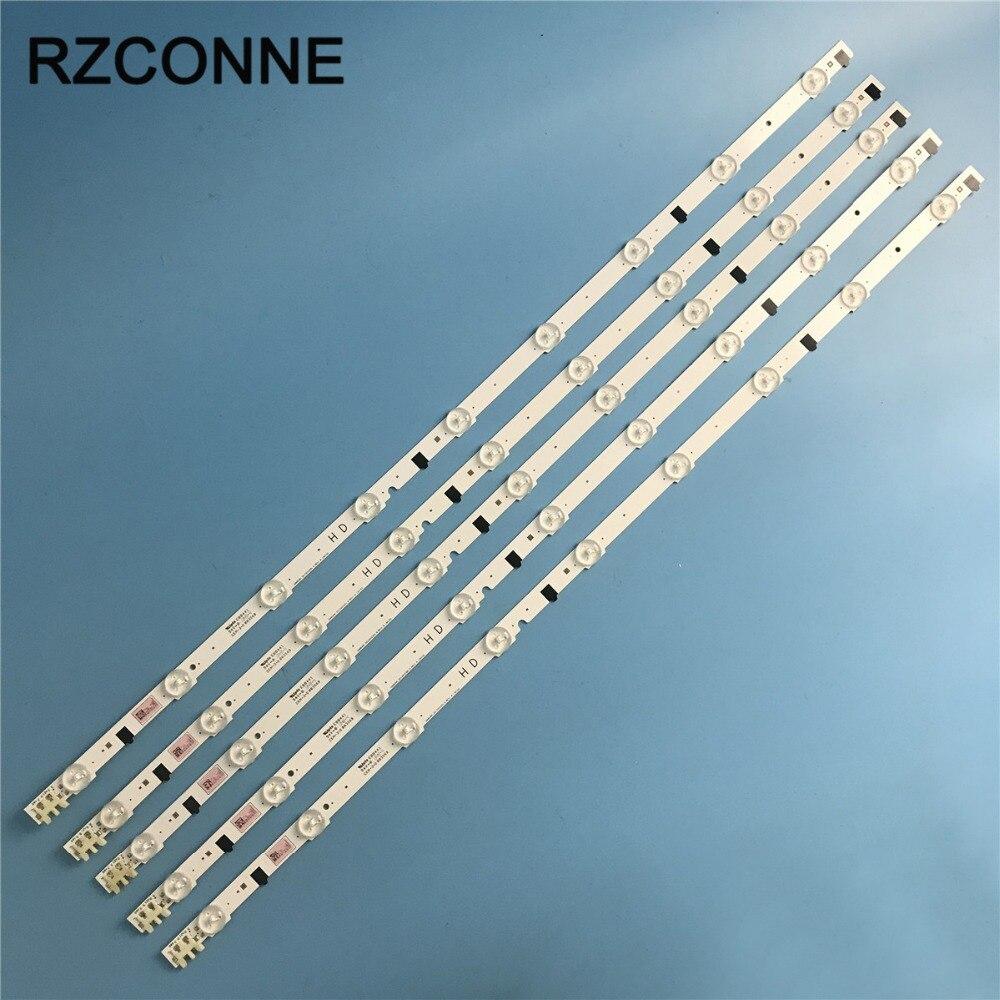 650mm Rétro-Éclairage LED Lampe bande 9 led Pour UA32F4088 2013SVS32H D2GE-320SC0-R3 UA32F4088AR CY-HF320AGEV3H UE32F5000AK UA32F4000AR