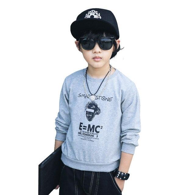 Nana Lara Kids Boys 2017 new spring Korean children hoodies 5058 long sleeved T-shirt